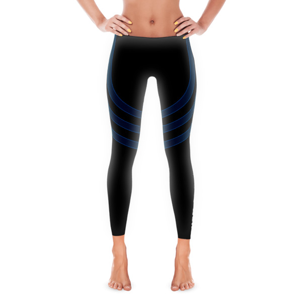 Old School Track Uni – Blue Leggings