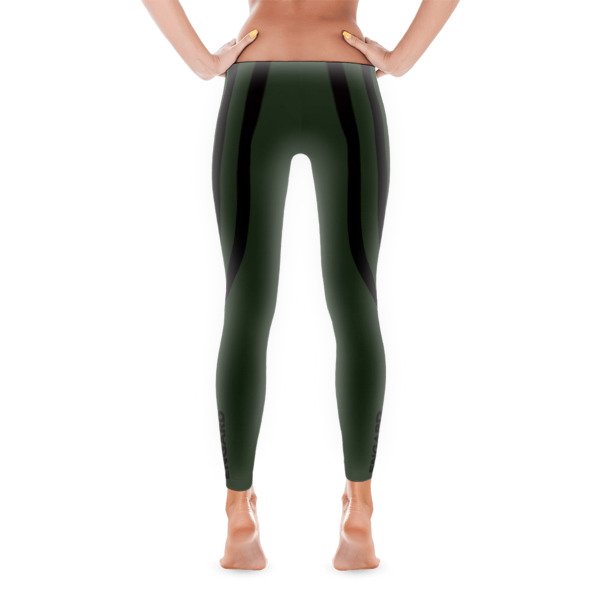 Army Green Track Leggings