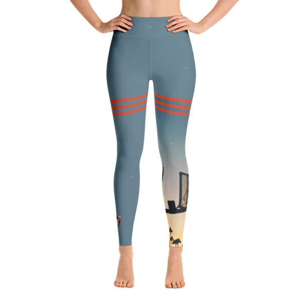 Beach Balleng Yoga Leggings