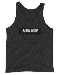 Unisex Shark Week Tank Top