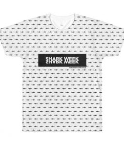 Sharkies Shark Week Sublimation men's crewneck t-shirt