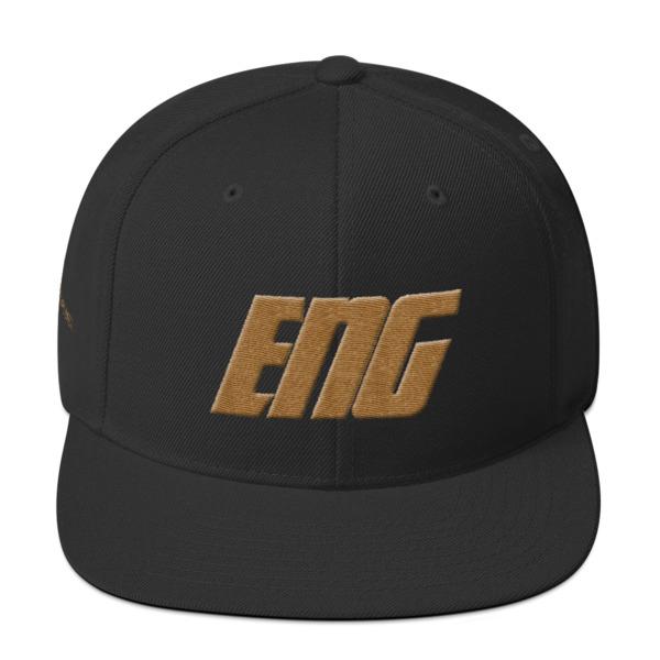 Old Gold ENG Snapback Hat